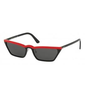 PRADA PR 19US YVH5S0 RED BLACK